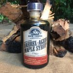 whiskey-barrel-aged-maple-syrup-barrel-aged-creations-grade-a-maple-syrup-dark-amber-whiskey-maple-syrup-whiskey-syrup-whiskey-inspired-gourmet-food-rye-whiskey