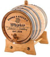 american oak aging barrel, barrel aged creations, bourbon inspired gifts for men