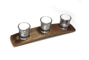 bourbon flight stave, barrel aged creations, bourbon inspired gifts for him