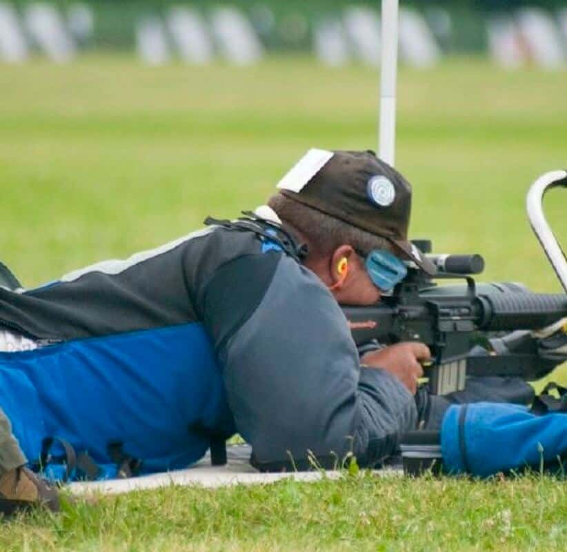 Obsessive and Meticulous about maintaining his Competition Firearms
