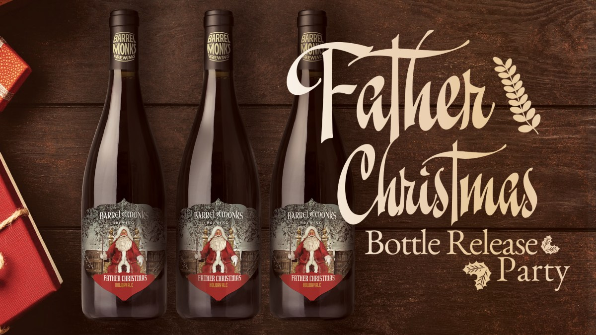 Father Christmas Bottle Release Party
