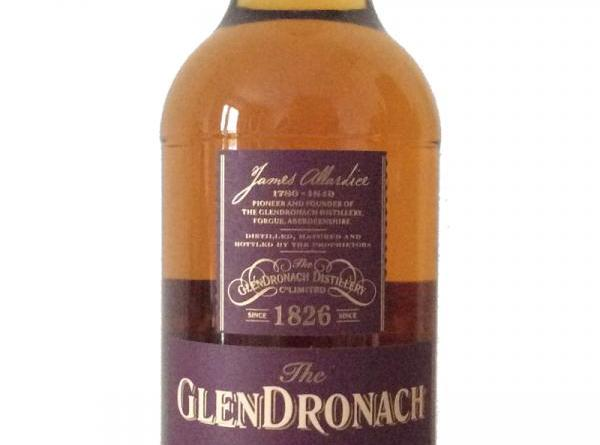 whisky review glendronach 2007