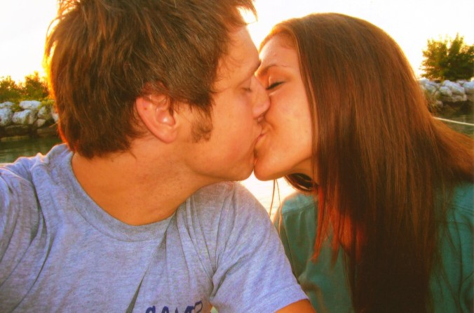when did we stop taking kissing pictures?