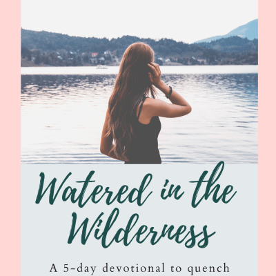 Get My FREE Infertility Devotional: Watered in the Wilderness