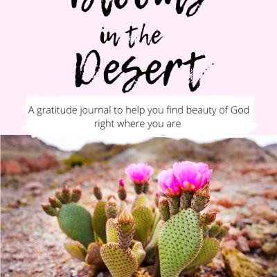 Get My FREE Gratitude Journal: Blooms in the Desert