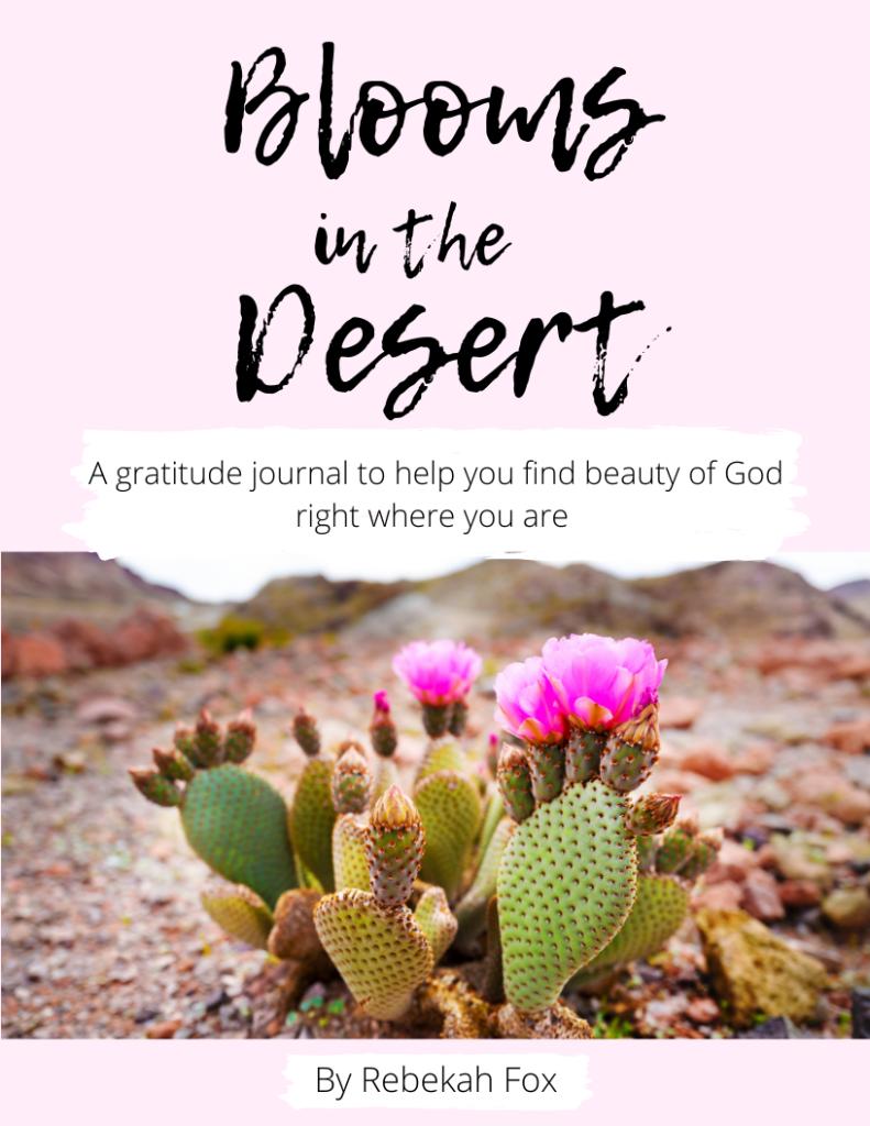 Blooms in the Desert Gratitude Journal