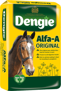 Bag of Alfa A horse feed