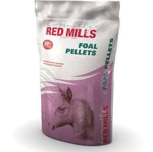 Bag of foal pellets