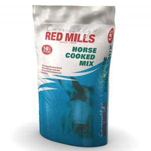 Bag of Horse cooked horse feed