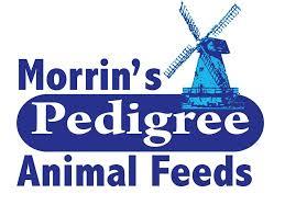 Morrins Pedigree chicken, turkey feed logo