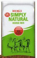Bag of Simply Natural Horse mix
