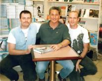 Me, Greg Louganis and Rick Nichols. 1997