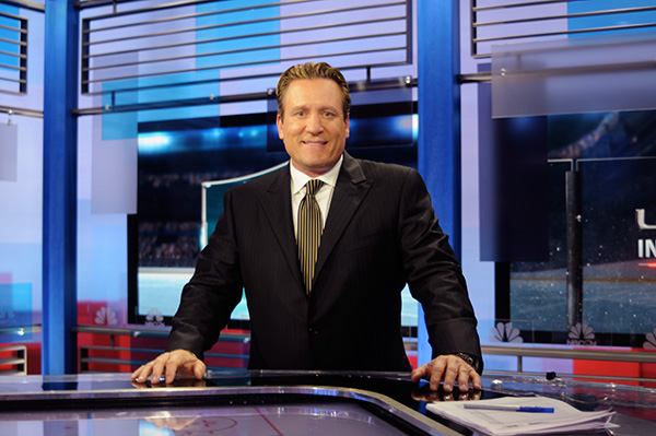 National Hockey League  analyst Jeremy Roenick is out at NBC Sports