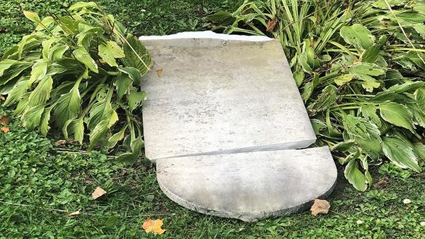 Orillia cemetery vandalism