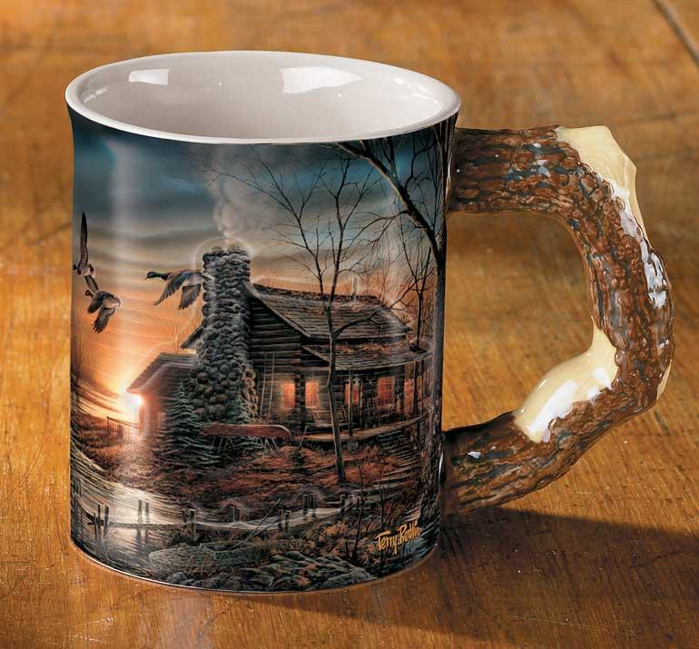 Barrier Bay Resort Gift Mug - Golden Retreat