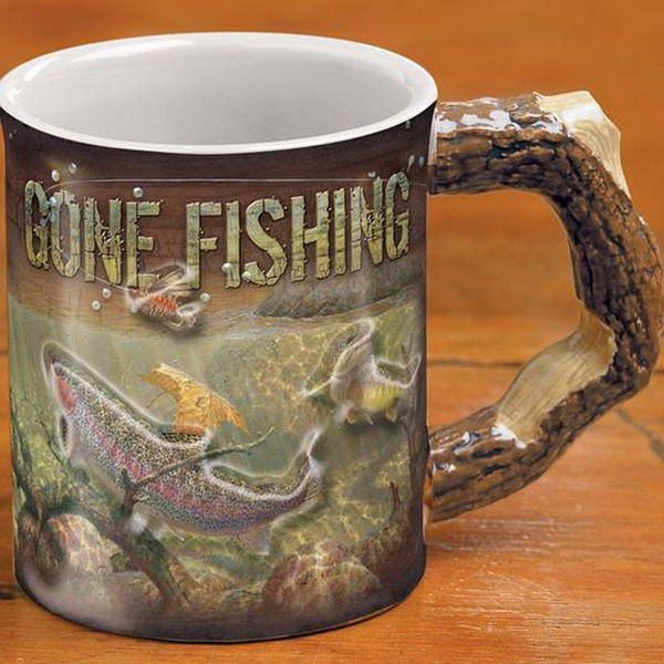 Barrier Bay Resort Gift Mug - Gone Fishin'