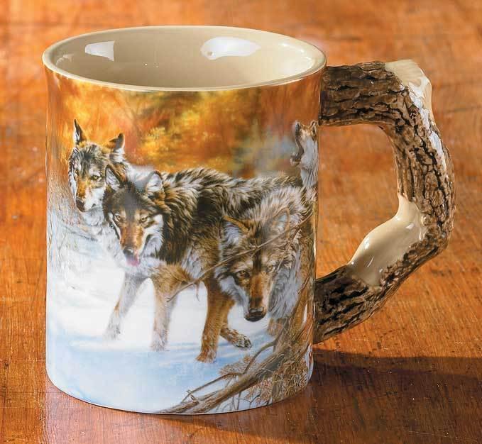 Barrier Bay Resort Collector Mug - Wolves