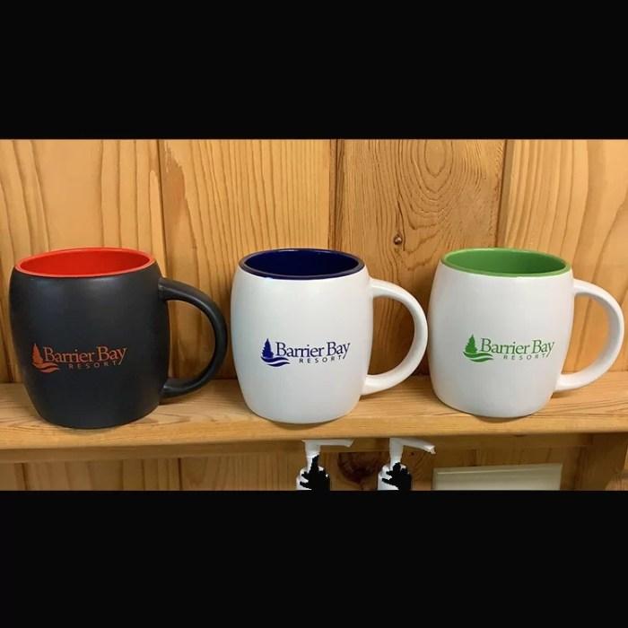 Barrier Bay Resort Mugs