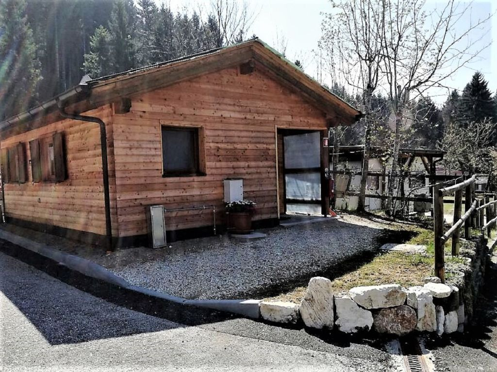 Campingplatz Sole Neve auf 1.100 Höhe im Trentino-Südtirol