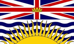 Flag of British Columbia.