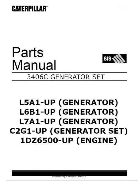 free caterpillar engine manuals online # 42