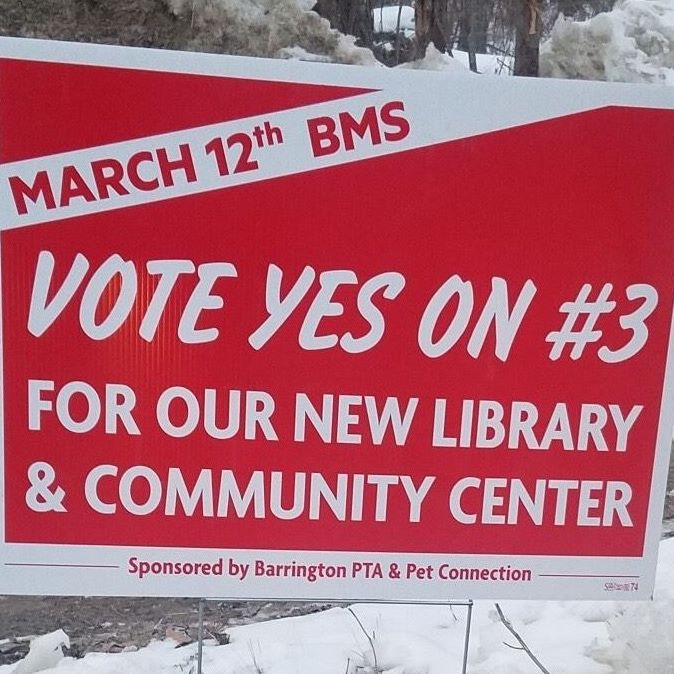 "image of ""Vote Yes on #3"" sign"