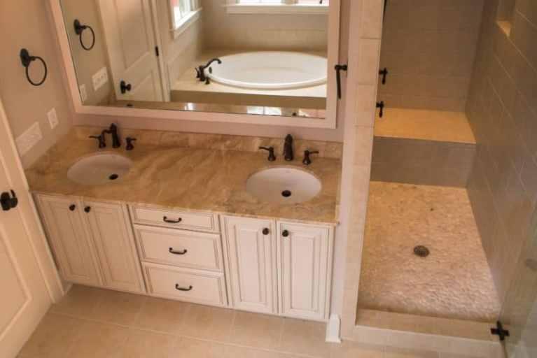 Keller bath offers many custom features