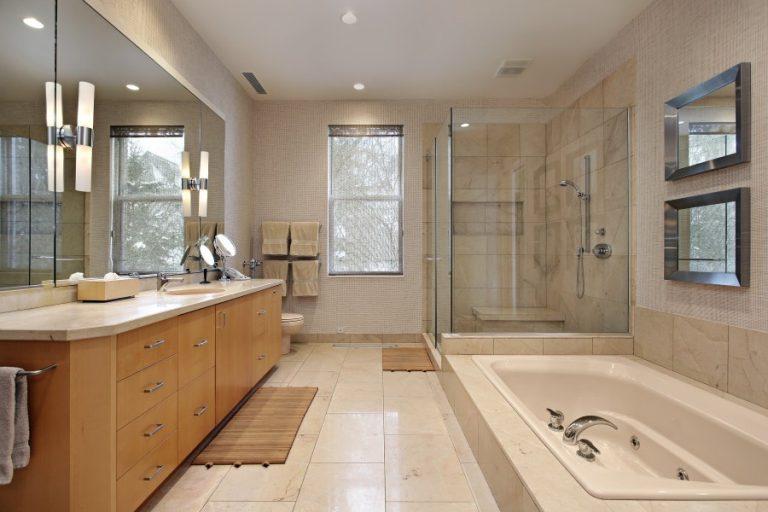 Southlake custom tub with chrome faucet