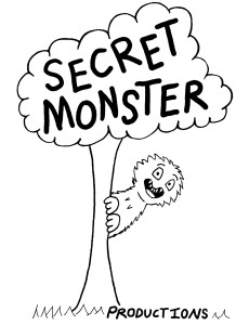 secret monster logo