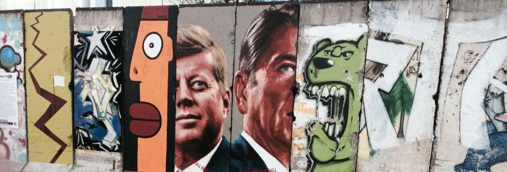 Berlin Wall Street Art in Miracle Mile