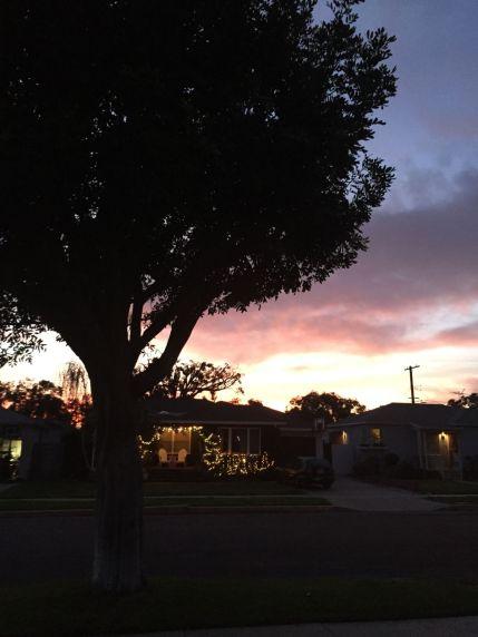 soft glow- la sunset