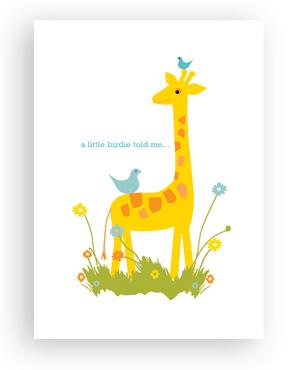 Rock Scissor Paper- Giraffe