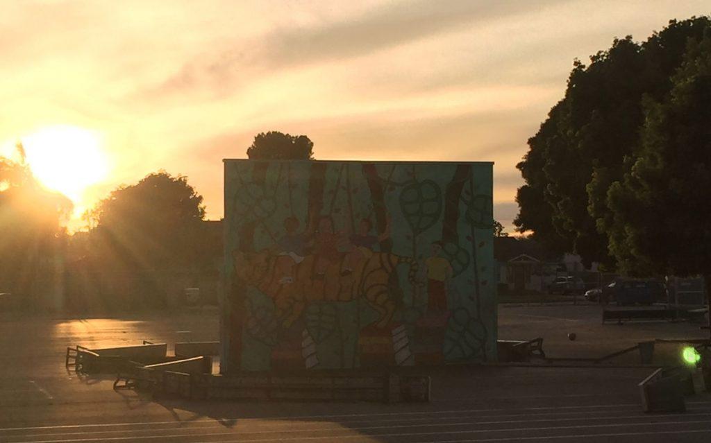 the sun & street art