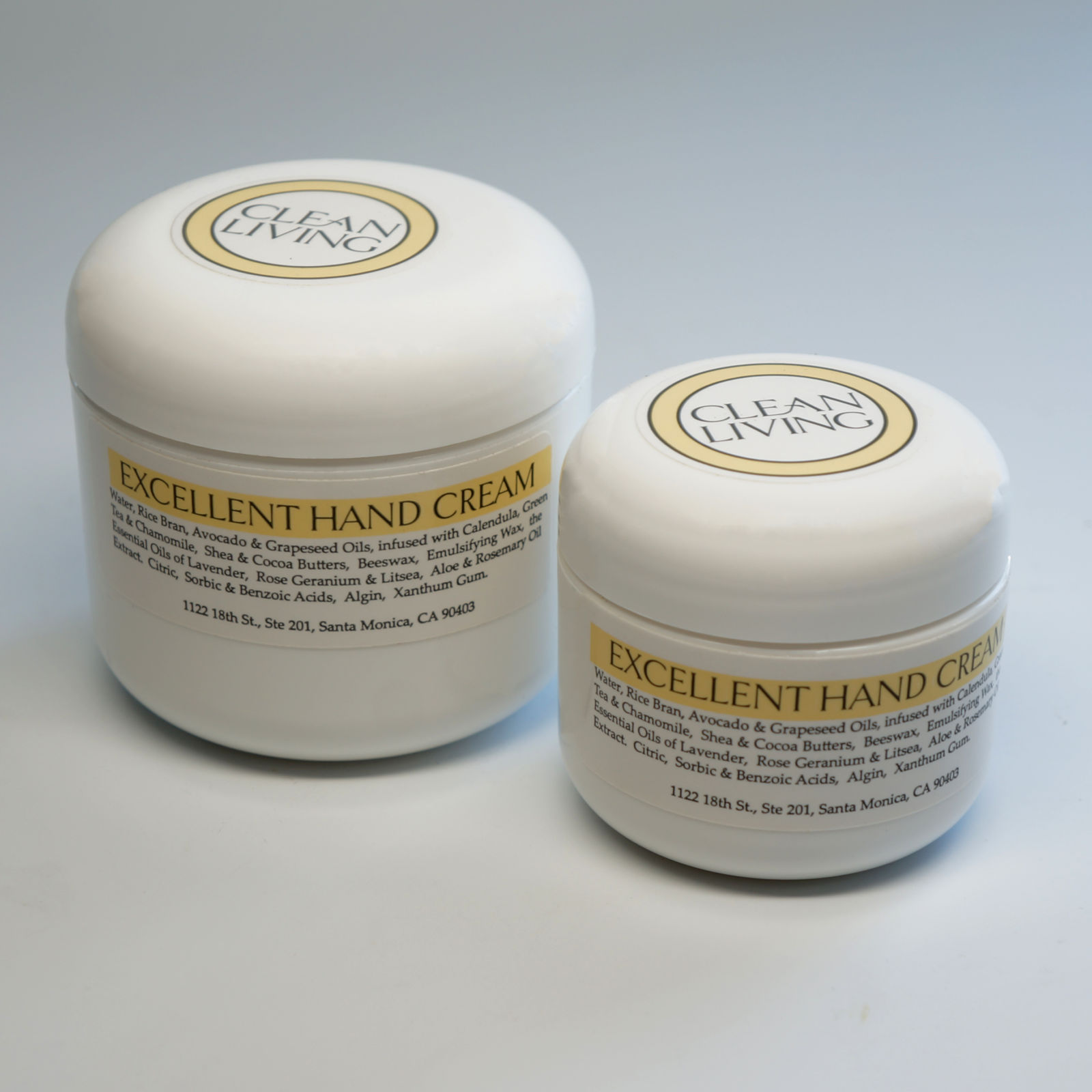Clean Living Excellent Hand Cream All Sizes