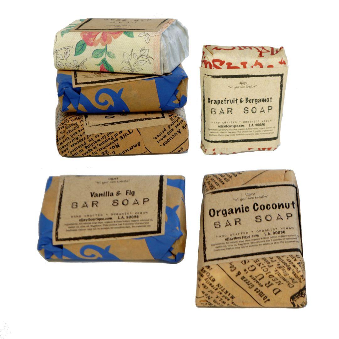 mini soap bars from Ujjayi Boutique