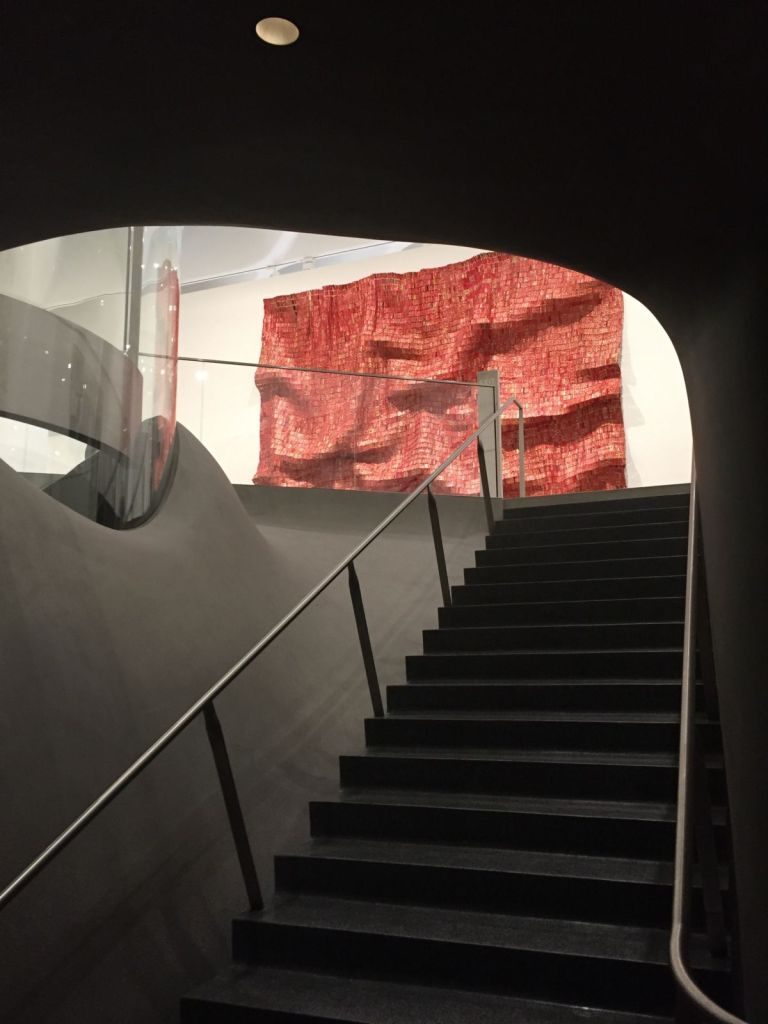 stairs into the Broad