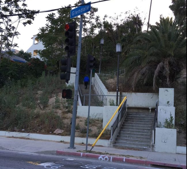 Echo Park stairs