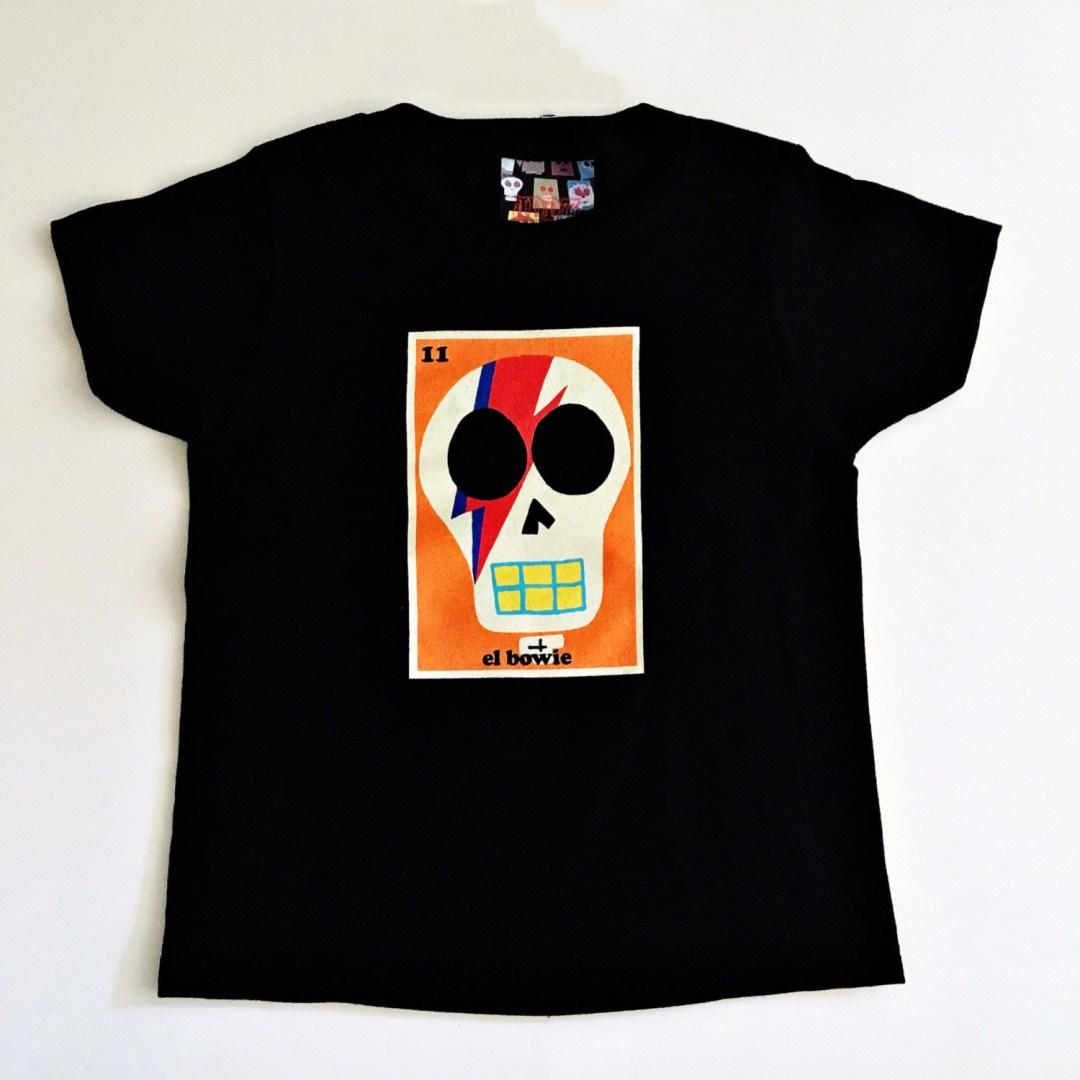 el Bowie unisex kids t-shirt