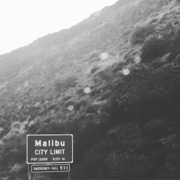 Malibu City Limit sign