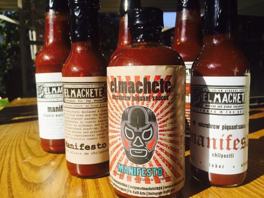 El Machete Chilli Sauces