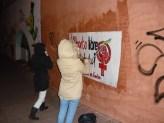 Barrio del Pilar en Lucha por el aborto libre