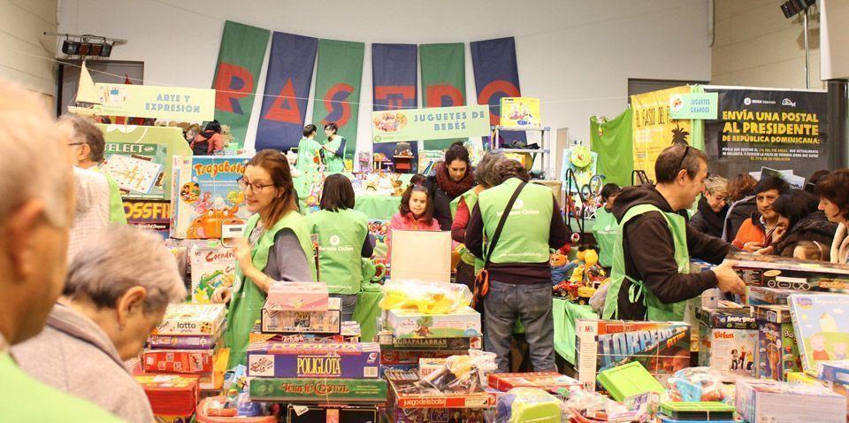 XX Rastro de Juguietes Intermon-Oxfam Centro Cívico Oliver