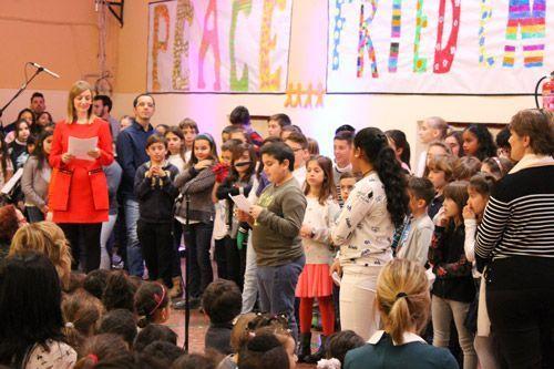 Dia de la Paz 2018 CEIP Ramiro Solans