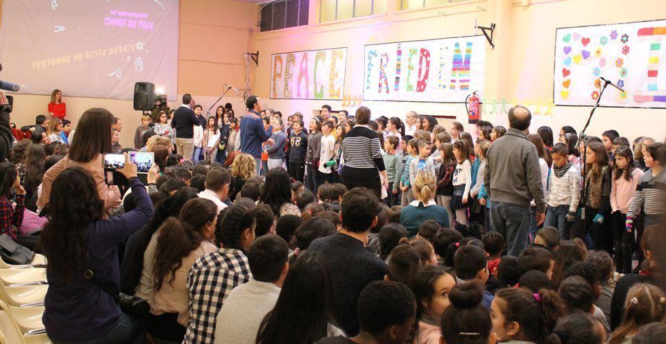 Día de la Paz en el Ramiro Solans