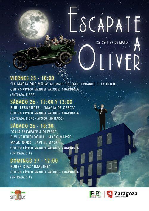 Festival de Magia e Ilusionismo Escápate a Oliver