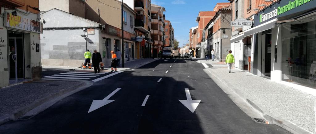Finalizan las obras de reforma de la calle Antonio Leyva