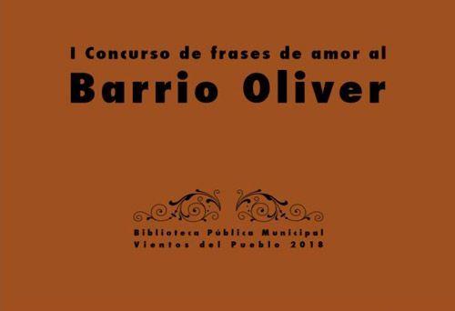 Actividades Biblioteca Vientos del Puablo de Oliver Octubre 2018