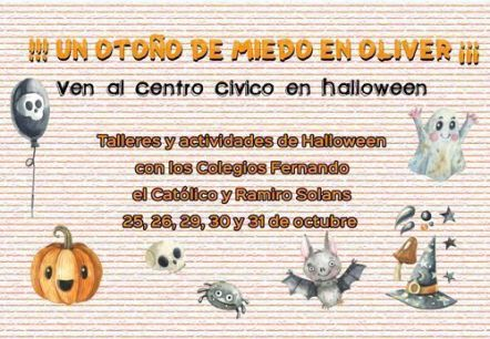 Halloween Centro Cívico Oliver 2018
