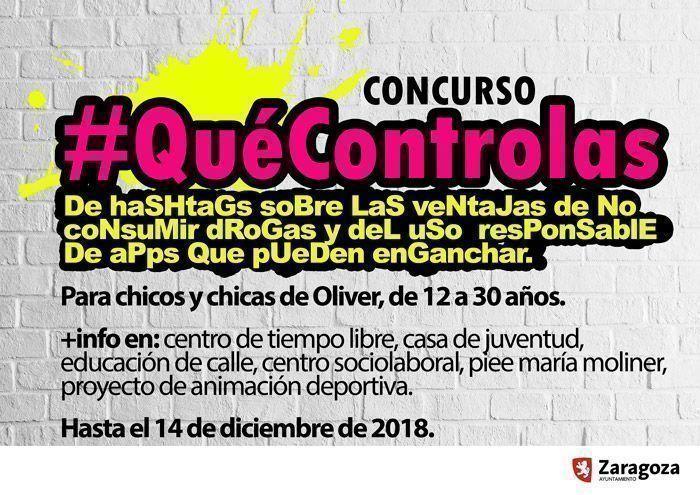El Concurso de hashtags #QuéControlas ya tiene ganador/a