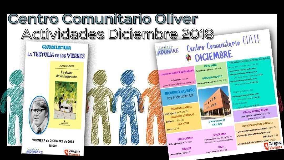 Actividades Centro Comunitario Diciembre 2018